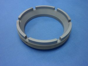2024 ALUM - Retaining Ring - External Thread - Chromic Anodize