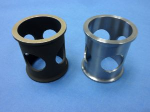 4130 STEEL Bushing w/ CAD & MIL-SPEC Paint & PFTE Lined ID