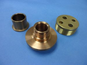 Various Brass, Alum-Bronze & Beryllium Parts